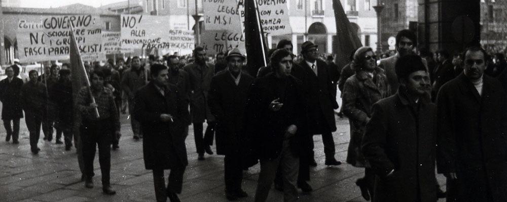 Gli anni Settanta: la mobilitazione antifascista