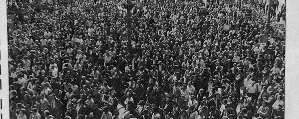 La reazione popolare alle stragi di Piazza della Loggia e del treno Italicus (1974)