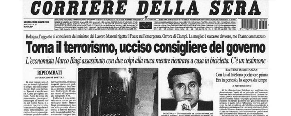 L'omicidio del Professor Marco Biagi