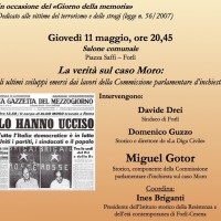 Conferenza: La verità sul caso Moro. Giovedì 11 maggio 2017