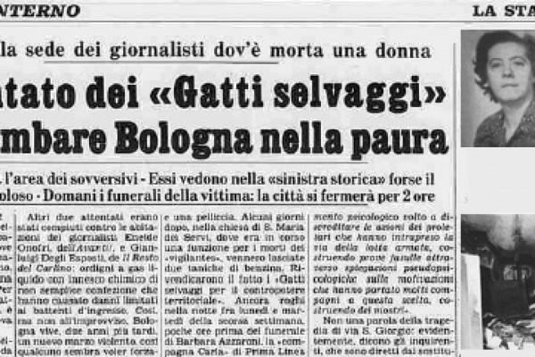 La morte di Graziella Fava e gli attentati contro i giornalisti bolognesi