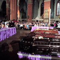I funerali delle vittime della strage (Associazione tra i familiari delle vittime della strage della stazione di Bologna)