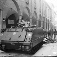 Opposizione al corteo in memoria di Lorusso, 13 marzo 1977