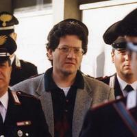 Fabio savi condotto al processo (Foto Bove)