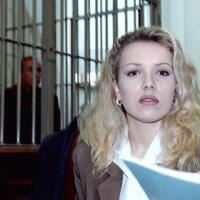 Eva Mikula al processo