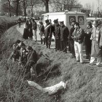 Il ritrovamento a Zola Predosa (BO) del corpo di Massimiliano Valenti, 21 anni, febbraio 1993