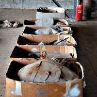 valige e altri ogetti recuperati dal DC9