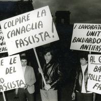 Forlì, marzo 1971, corteo popolare contro il fascismo (Minisci)