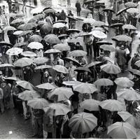 Forlì, 10 maggio 1978, piazza Saffi. (Minisci)